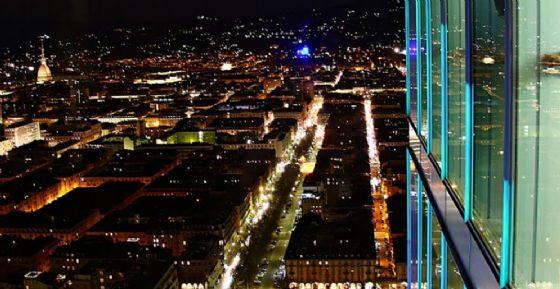 Vista dal Grattacielo Intesa Sanpaolo di Torino (© Paola Fumaroli)