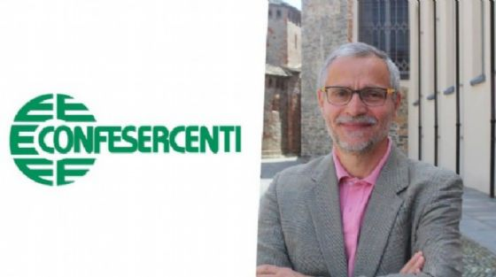 Angelo Sacco è il presidente di Confesercenti
