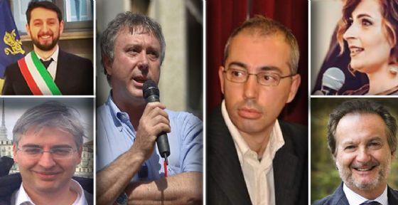 Claudio Cerrato, Marco Novello, Luca Deri e Carlotta Salerno