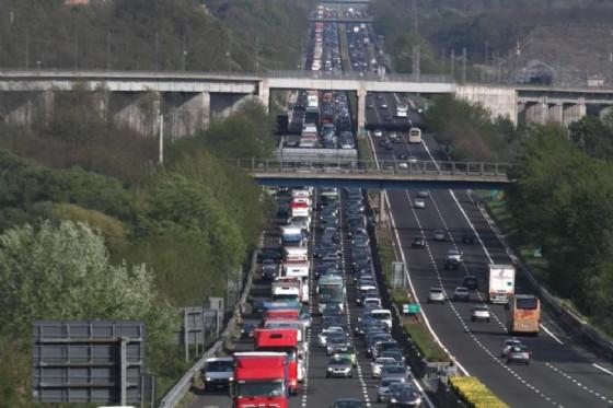Incidente stradale nell'A4. 13 chilometri di coda