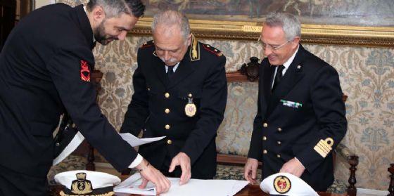 Comune e direzione marittima di Trieste hanno firmato l'accordo operativo per i controlli congiunti (© Comune di Trieste)