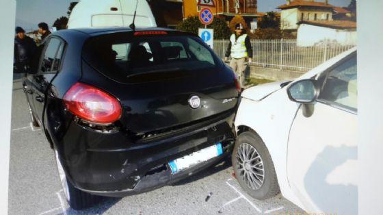 Le due automobili coinvolte
