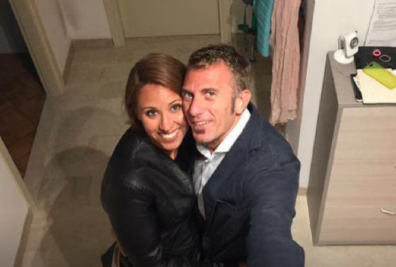 Paolo Duò, 42 anni, con la compagna Chiara Dallere