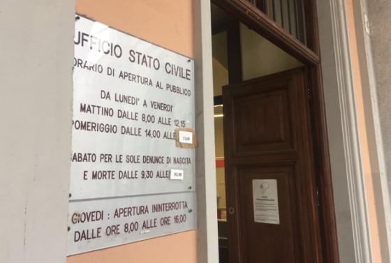 Gli uffici del Comune di Biella