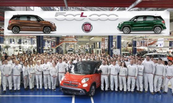 Fiat, prodotta la Fiat 500L numero 500mila: un esemplare da record