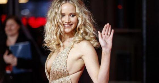 Jennifer Lawrence alla premiere di «Red Sparrow»