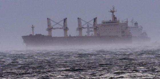 Il Golfo di Trieste sferzato dal vento