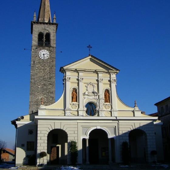 La chiesa dell'Assunta
