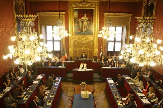 La Sala Rossa, sede del Consiglio comunale