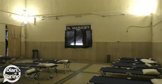 La stanza in cui dormono i clochard