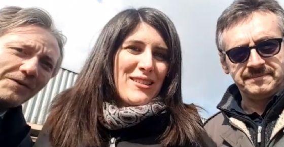 Alberto Sacco, Chiara Appendino e Alberto Unia (© Facebook Profile)