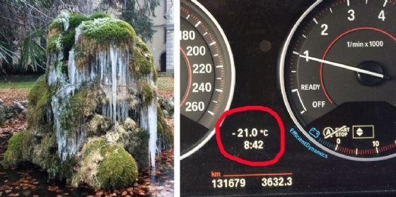 Ancora freddo intenso in Fvg: a Fusine -25.2°. E per venerdì è attesa la neve