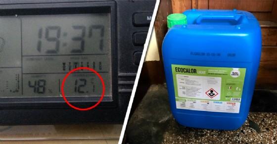 12 gradi in casa, chi può compra l'olio da utilizzare nelle stufe