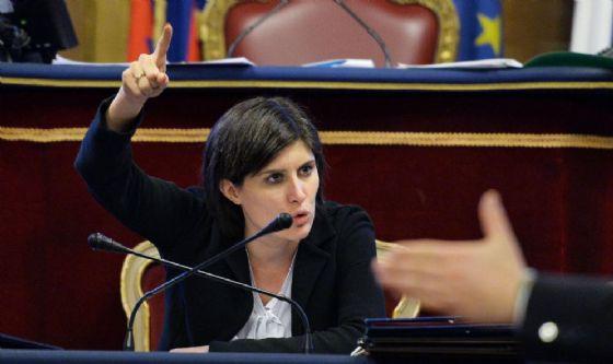 Chiara Appendino in Consiglio comunale (© ANSA)