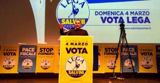 Fabrizio Ricca, leader della Lega a Torino