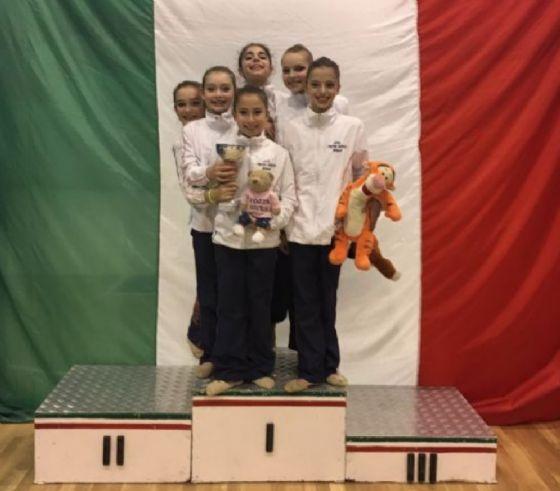 Atlete sul podio (© Diario di Biella)