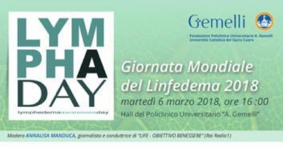Al Gemelli la Giornata dedicata al linfedema