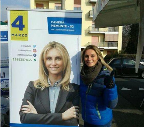 Cristina Patelli (© Diario di Biella)