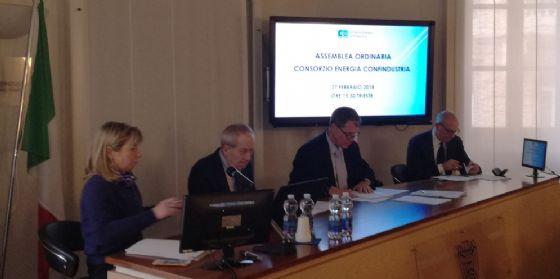Assemblea annuale del Consorzio Energia Confindustria
