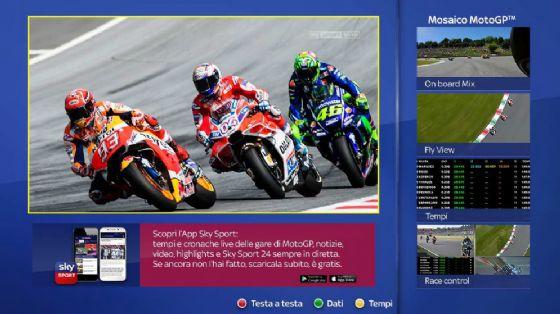 La MotoGP su Sky Sport
