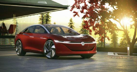 La concept car Volkswagen I.D. Vizzion