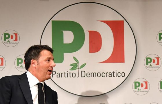 Il segretario Pd Matteo Renzi.