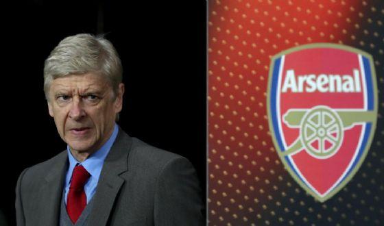 Il manager dei Gunners Arsene Wenger