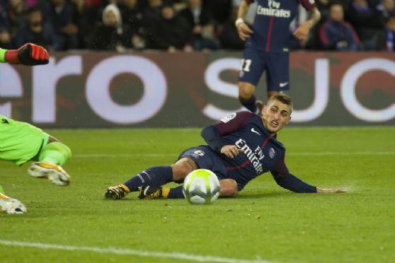 Marco Verratti, centrocampista del Paris Saint Germain e della nazionale italiana