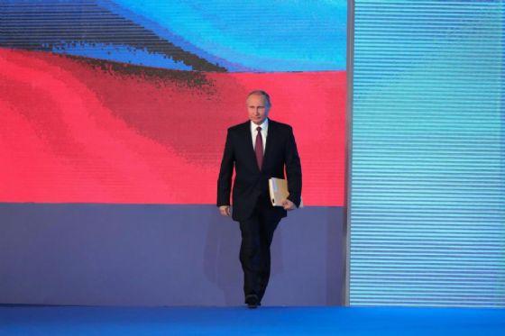 Il presidente Vladimir Putin