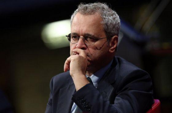 Il direttore del TgLa7 Enrico Mentana