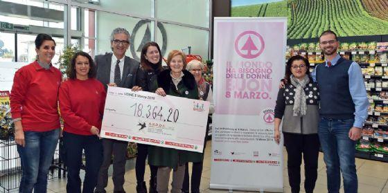 Ha fruttato 18.364 euro l'ultima campagna lanciata da Aspiag Service