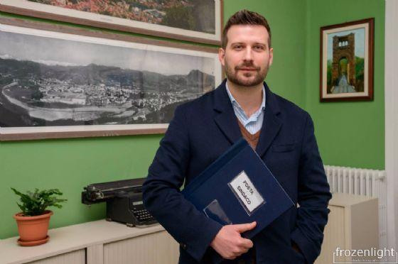 Il sindaco di Borgosesia, Paolo Tiramani