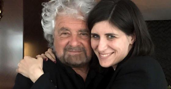 Beppe Grillo e Chiara Appendino