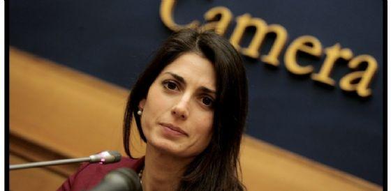 Virginia Raggi a Trieste per incontrare attivisti e portavoce del M5S (© Diario)