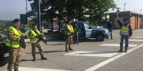 Latitante romeno bloccato a Fernetti al suo rientro in Italia (© Polizia)
