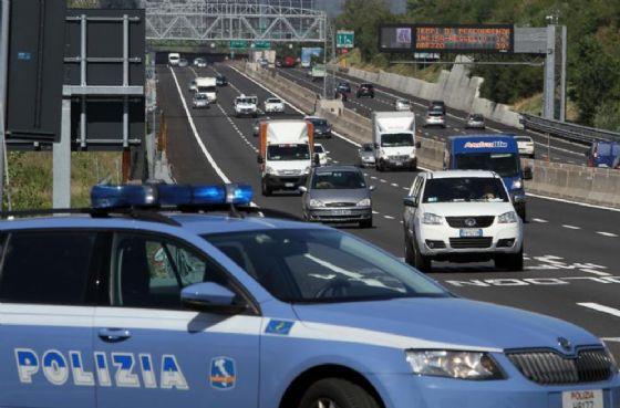 Frana in autostrada: code in A1 tra Valdarno e Firenze