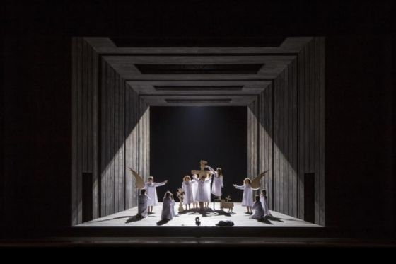 Una scena dell'opera teatrale