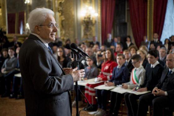 Il presidente della Repubblica parla ai nuovi Alfieri della Repubblica
