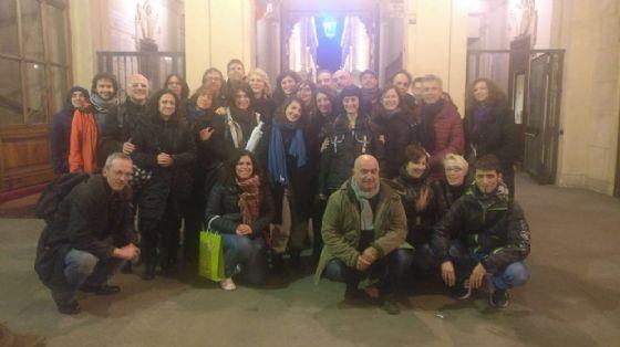 Chiara Appendino e i consiglieri di Circoscrizione del M5S
