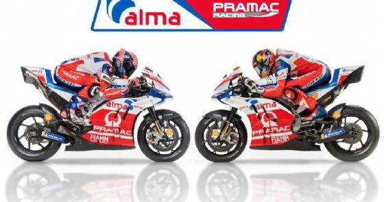 Le due Ducati del team Pramac affidate a Danilo Petrucci e Jack Miller
