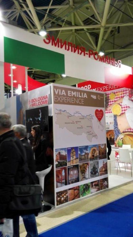 Lo stand dell'Emilia-Romagna