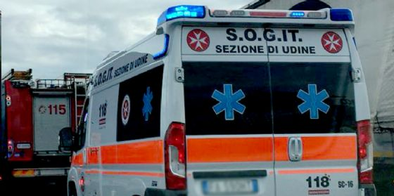 Spilimbergo, scontro tra due autovetture: 4 i feriti