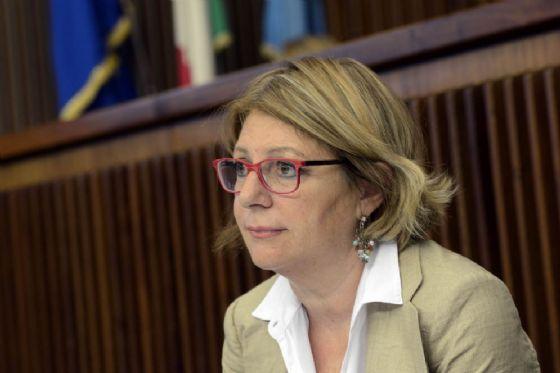 Assessore regionale alla Salute Maria Sandra Telesca