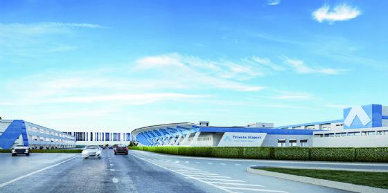 Trieste Airport, Came firma progetto e realizzazione del sistema di accesso ai parcheggi del polo intermodale