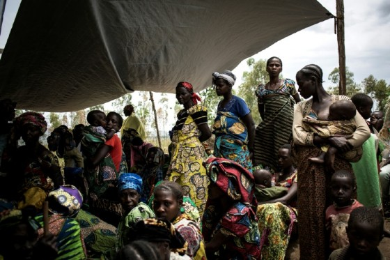 Humanitarian workers say the conflict has displaced some 200,000 people