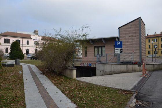 Borgomanero: riaperto il parcheggio in piazzale Marazza