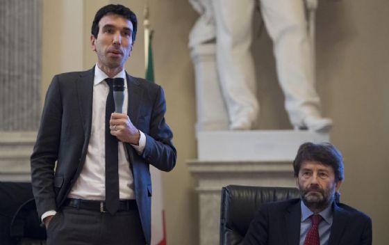 Maurizio Martina e Dario Franceschini.