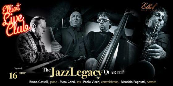 I 'JazzLegacy 4tet' protagonisti da Elliot (© Elliot)