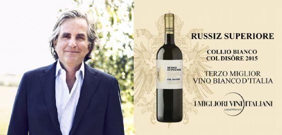 Gradisca, il 'Collio Bianco Col Disôre Russiz Superiore' è il terzo miglior vino bianco d'Italia