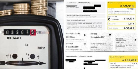 Luce e gas, in Fvg bollette con conguagli record sopra gli 8 mila euro